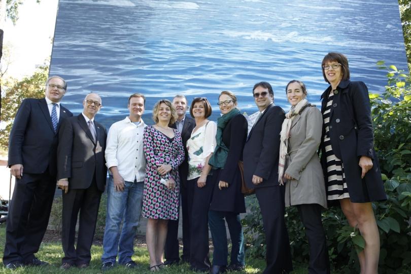 AU FIL DE L'EAU – PHILLIP ADAMS – 2013 - Inauguration