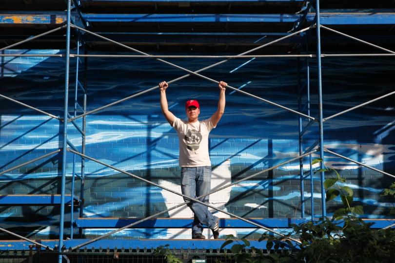 """AU FIL DE L'EAU – PHILLIP ADAMS – 2013 - """"Making of"""""""