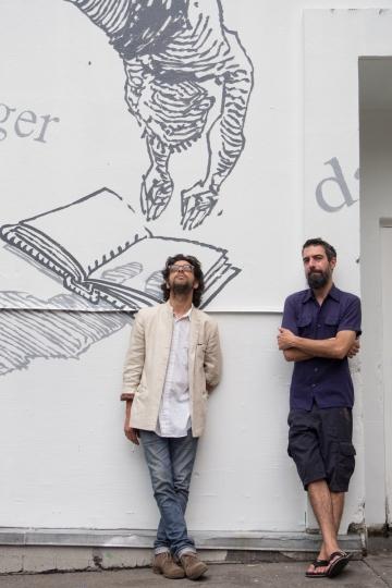 MURS à MOTS – 2014 - B. Rouyère et D. Desbiens – « Making of »