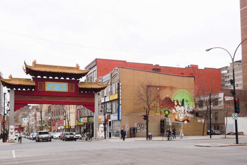 Projet - QUARTIER CHINOIS – GENE PENDON ET BRYAN BEYUNG – 2015