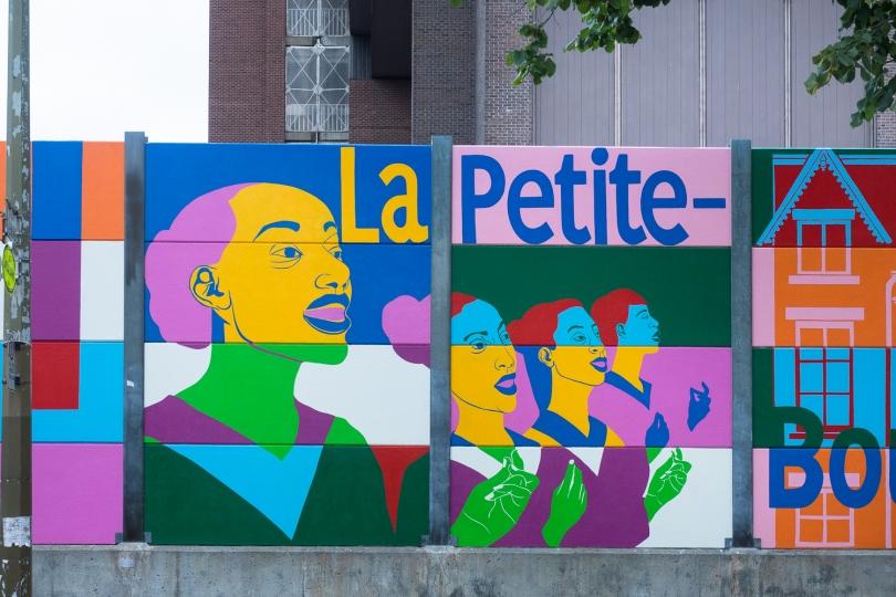 HOMMAGE à LA PETITE-BOURGOGNE – ROADSWORTH – 2016 - Détails