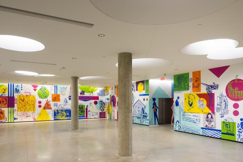 Projet - Hommage à la collection permanente – MU – 2016