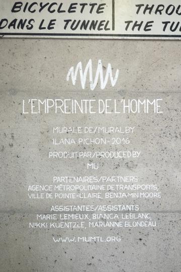 L'EMPREINTE DE L'HOMME – ILANA PICHON – 2016 - Détails