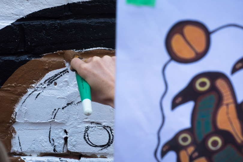 HOMMAGE à NORVAL MORRISSEAU – MELISSA DEL PINTO – 2016 - Making of